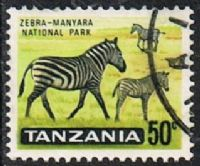 Tanzania SG134 1965 Definitive 50c good/fine used